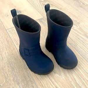 Native toddler rubber rain boots